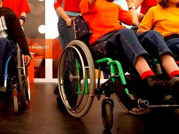Disabilità, disabile, sedia a rotelle