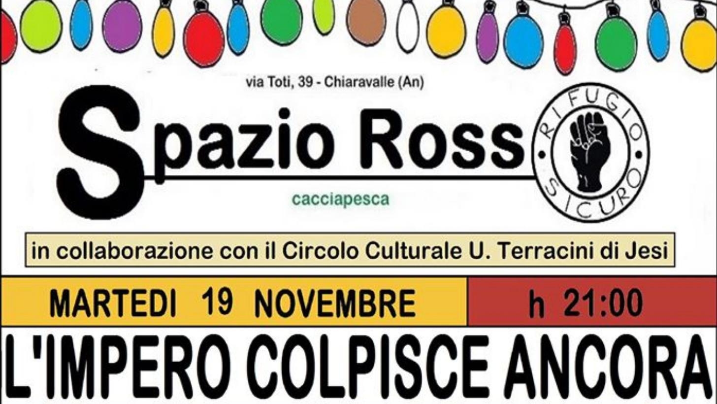 Chiaravalle: Giordano Vecchietti allo Spazio Rosso - Vivere Jesi