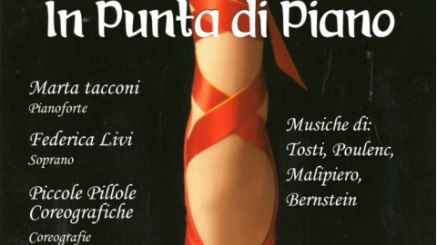 In punta di piano, spettacolo in streaming